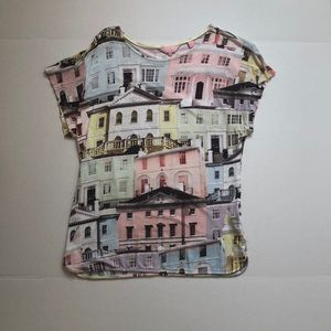 Ted Baker homes in London pastel t-shirt 4/L